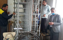 برگردان و برقراری ارتباط مشترکین تلفن ثابت و اینترنت در مرکز مخابرات چهار محل رودبار
