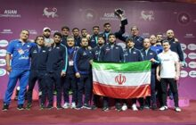 آزادکاران ایران بر بام آسیا