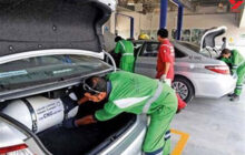 6 هزار دستگاه خودرو در گیلان رایگان گاز سوز شد