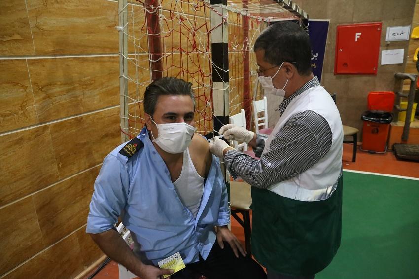 واکسیناسیون کل کارکنان شرکت نفت منطقه گیلان انجام شد