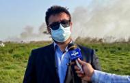 دستگیری عاملان آتش سوزی تالاب انزلی