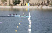 قهرمانی گیلان در مسابقات قایقرانی آبهای آرام بانوان کشور