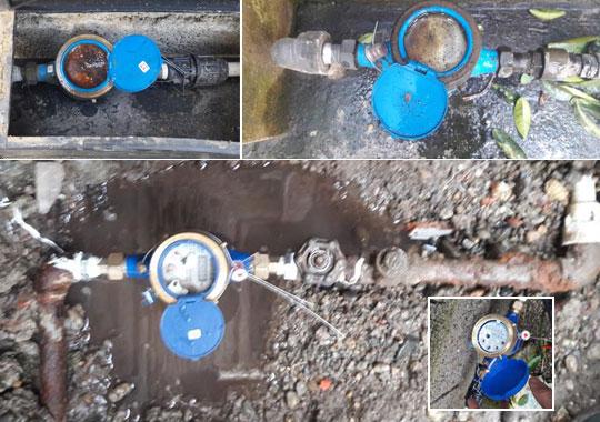تعویض 261 فقره کنتور خراب آب شرب در شهرستان فومن
