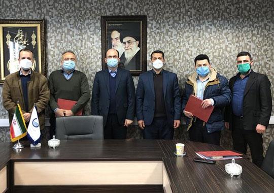 تجلیل از گروه بازرسی انشعابات غیرمجاز امور آبفای شهرستان رشت