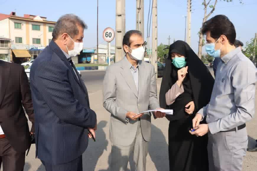 بازدید صبحگاهی شهردار رشت از محله آب آسیاب/رفع مشکلات شهری با رویکرد محله محوری